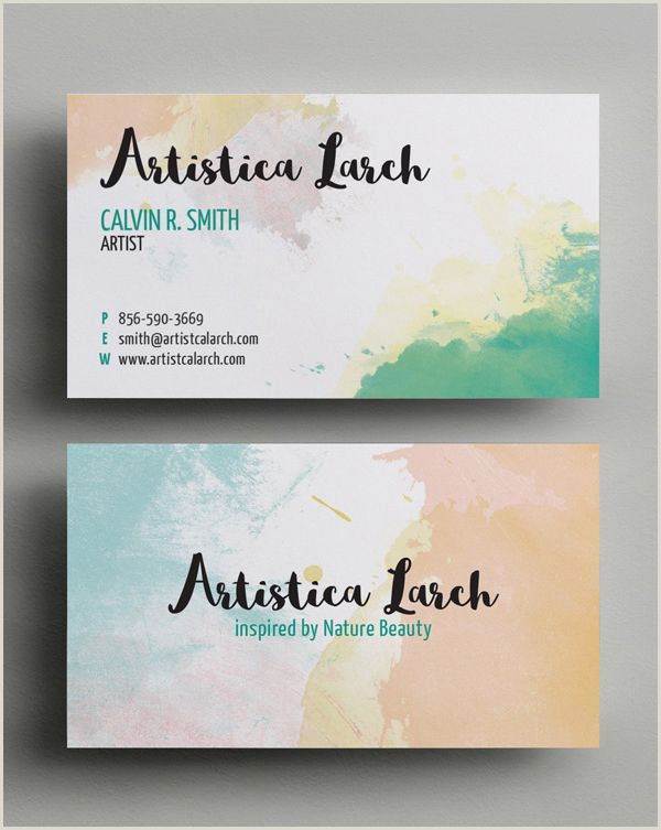 Sample Artist Business Cards Business Cards Design 26 Ready To Print Templates