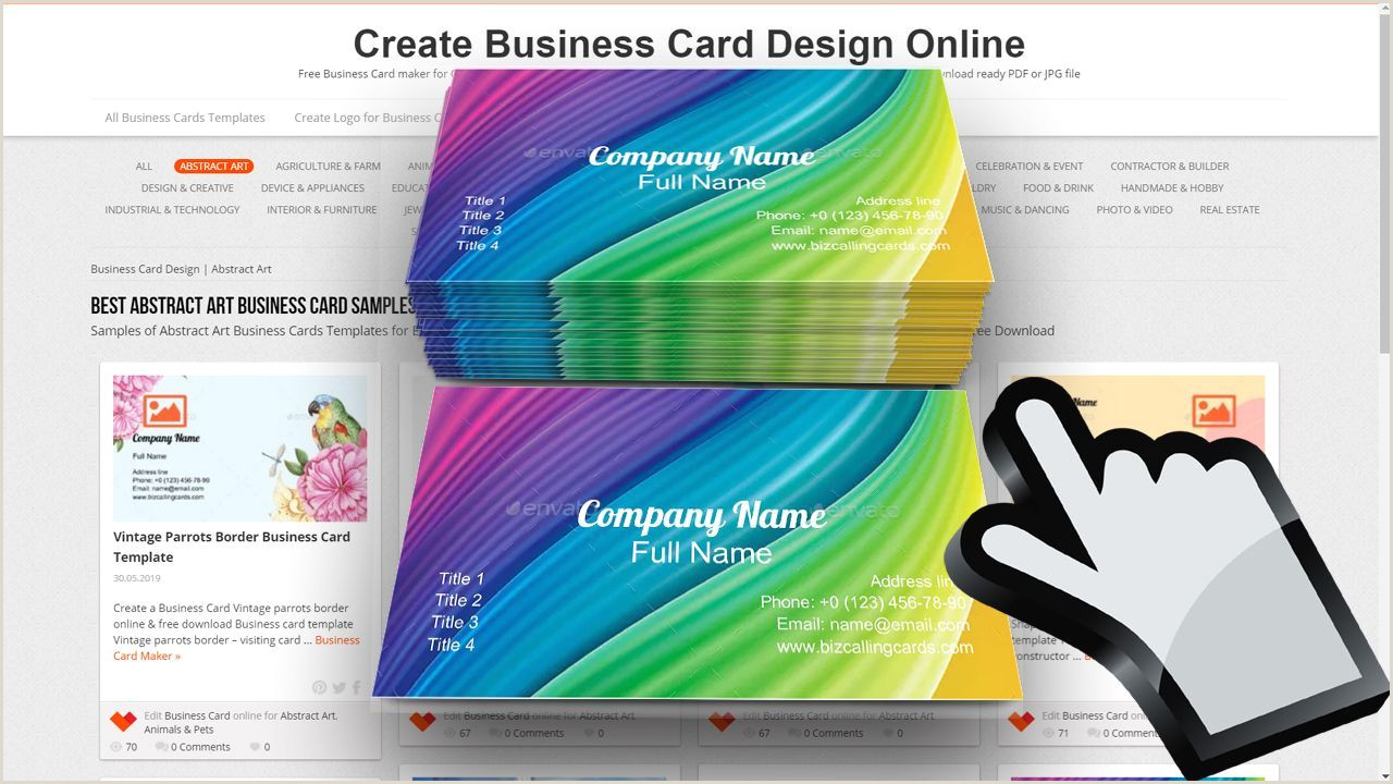 Sample Artist Business Cards Look At Examples Business Cards Business Cards Business