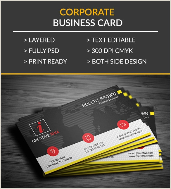 Sample Business Cards Free 10 Sample Business Card Templates In Pdf