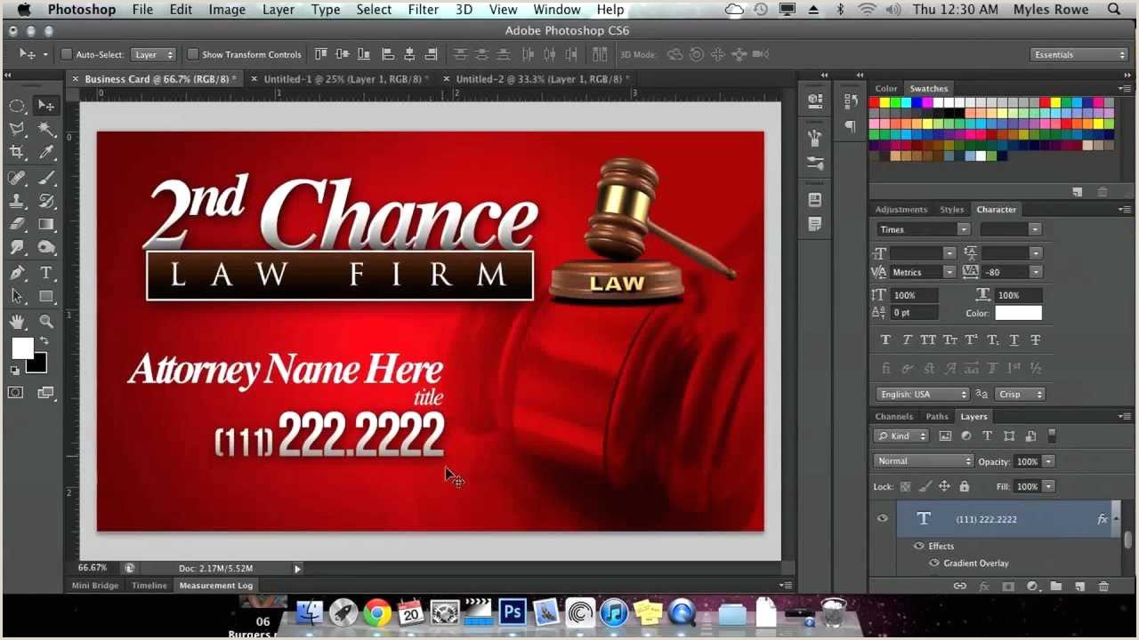 Sample Calling Card How To Create A Custom Business Card Using Shop