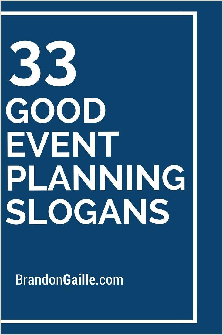 Sample Event Planner Business Cards 35 Slogans Und Taglines Für Gute Veranstaltungsplanung