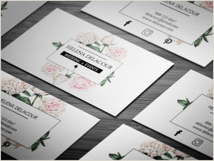 Sample Event Planner Business Cards Free Event Planner Business Card Template