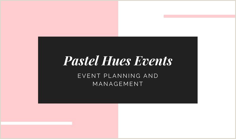 Sample Event Planner Business Cards Free Event Planner Business Cards Templates To Customize