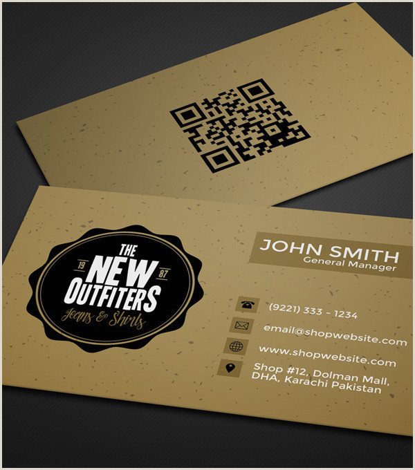 Sample Of Business Card 20 Professional Business Card Design Templates For Free