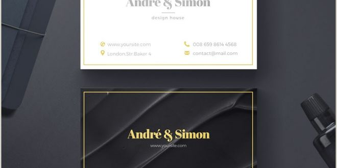 Sample Professional Business Cards 20 Professional Business Card Design Templates for Free