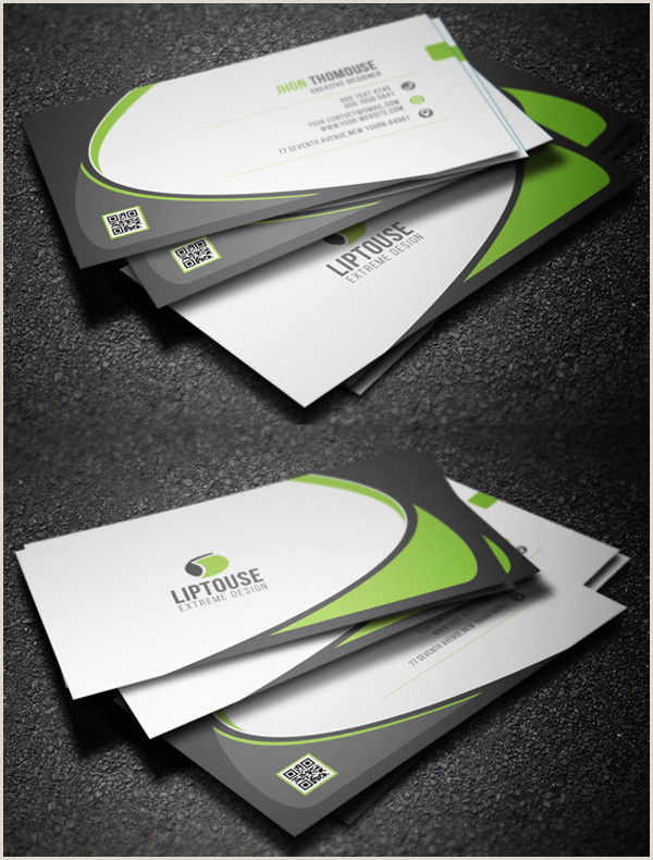 Samples Of Business Card Modern Business Cards Design 26 Creative Examples