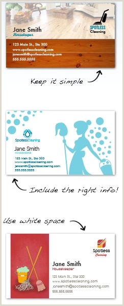 Samples Of Cleaning Business Cards Cleaning Business Cards Design Custom Business Cards For Free