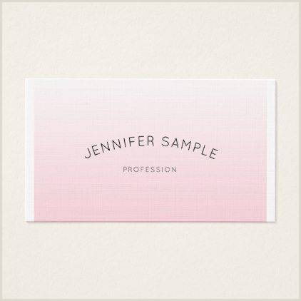 Samples Of Cleaning Business Cards Professional Minimalist Elegant Design Pink Luxury Business