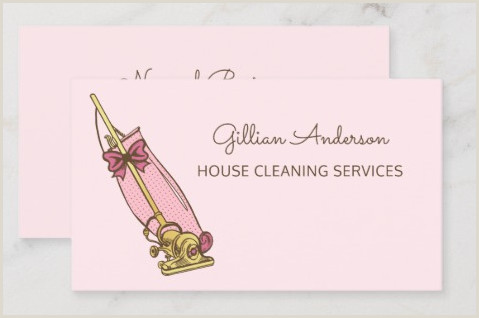Samples Of Cleaning Business Cards Top 25 Cleaning Service Business Cards From Around The Web