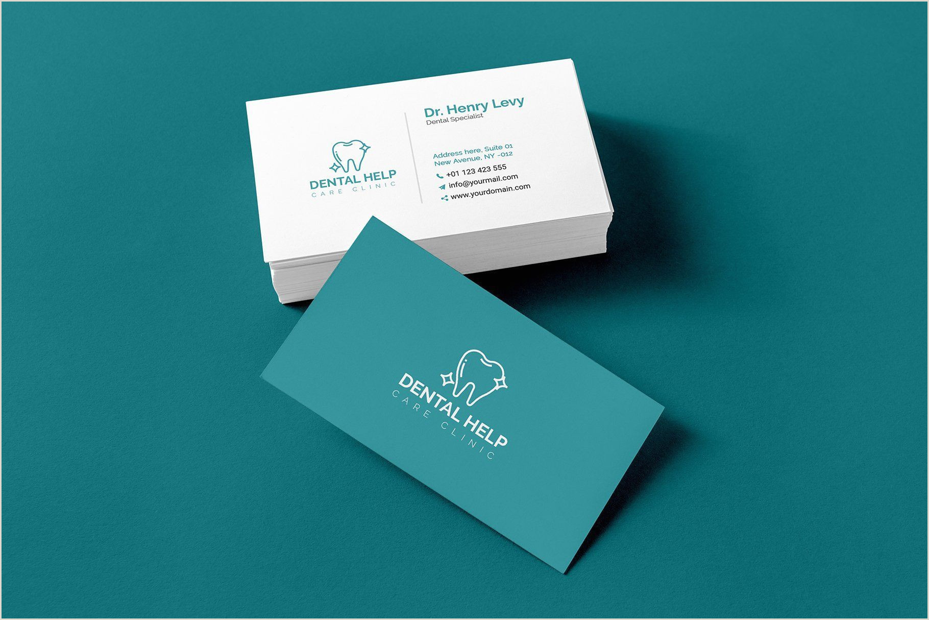 Simple Business Card Examples Dentist Business Card Templates In 2020
