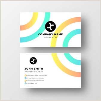 Simple Business Card Layout Simple Business Card