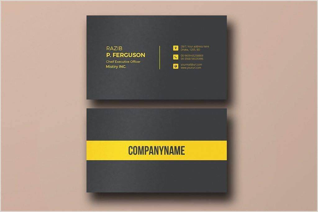 Simple Business Card Template Word Free 37 Business Card Templates In Word Psd Ai