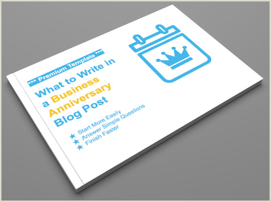 Simple Business Card Template Word Pany Anniversary Blog Post Download Template For Writing