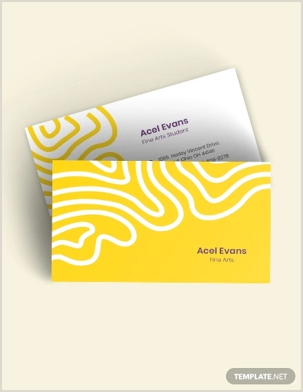 Simple Business Card Templates Free 288 Business Card Designs And Templates