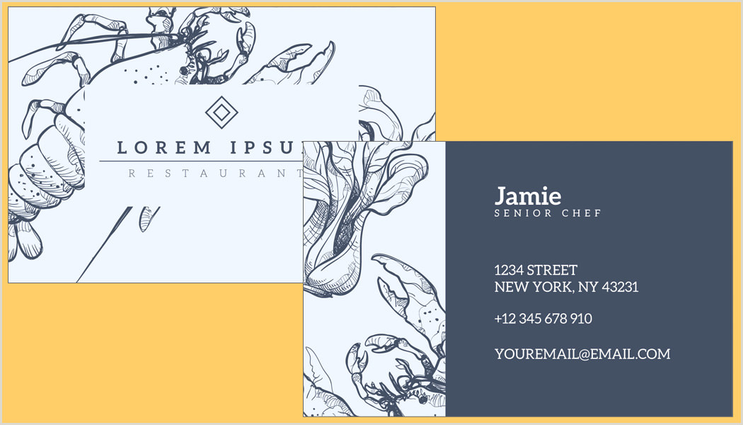 Simple Business Card Templates Free 35 Free Editable Beautiful And Simple Business Card Templates