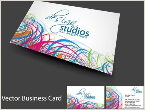 Simple Business Card Templates Free Business Card Template Free Vector 39 837