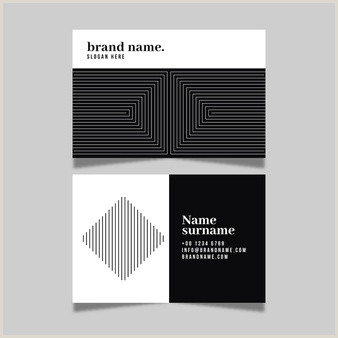 Simple Business Card Templates Free Simple Business Card