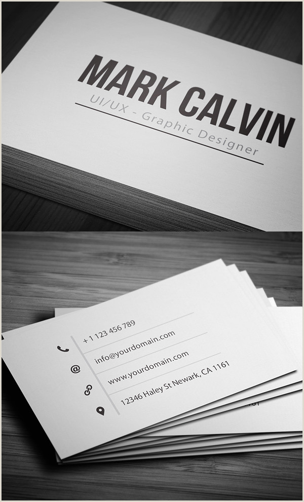 Simple Business Cards 80 Best Of 2017 Business Card Designs Design