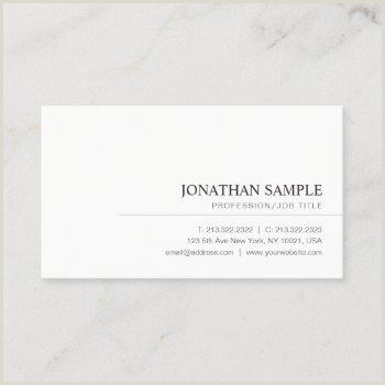 Simple Business Cards Simple Business Cards