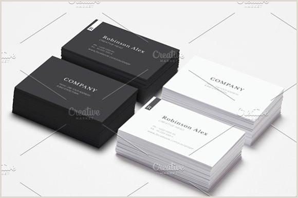 Simple Clean Business Card Simple & Clean Business Card Vol2