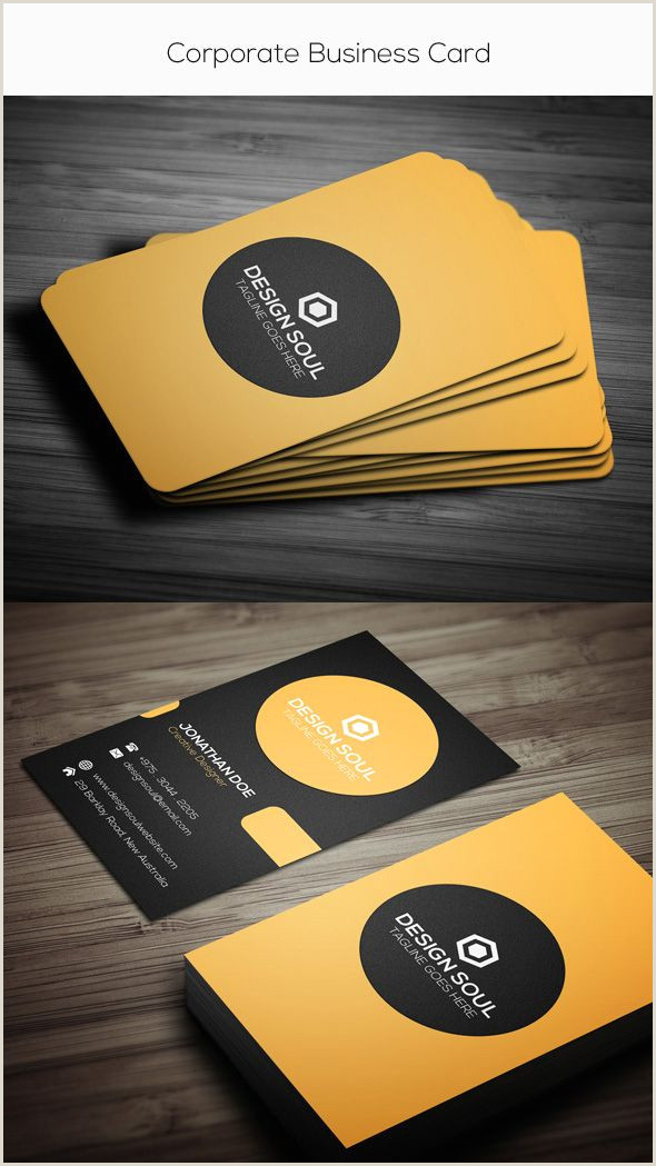 Simple Clean Business Cards 15 Premium Business Card Templates In Shop