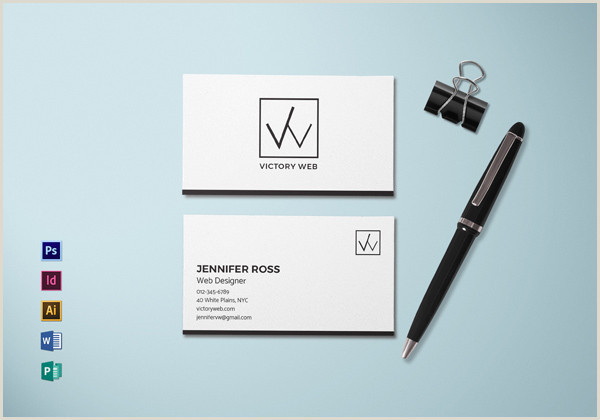 Simple Clean Business Cards 30 Minimalistic Business Card Designs Psd Templates