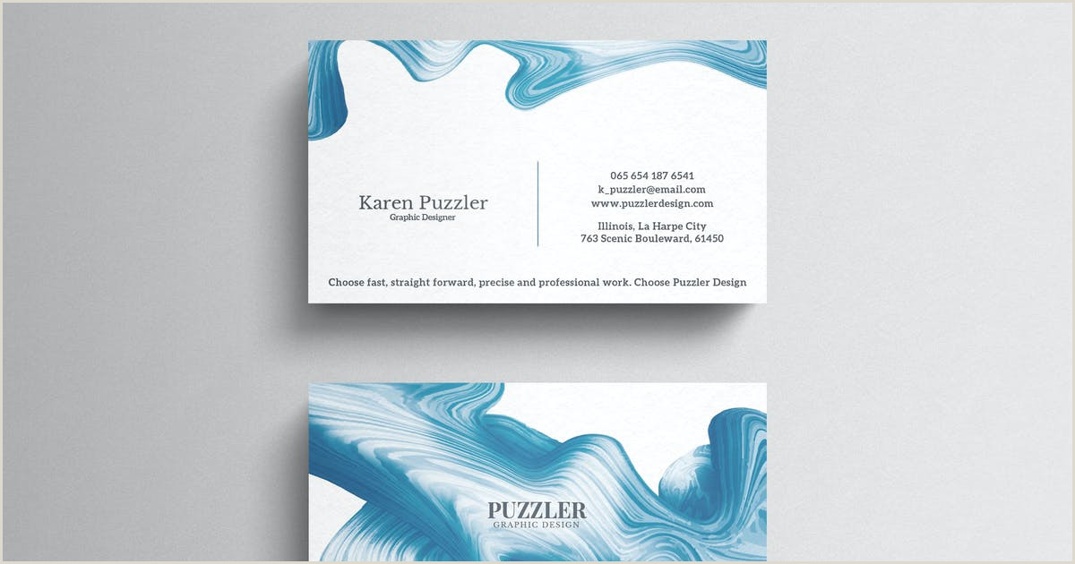 Simple Clean Business Cards Clean Simple Business Card By Eightonesixstudios On Envato Elements