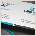Simple Clean Business Cards Simple And Clean White Business Card Template Cardzest