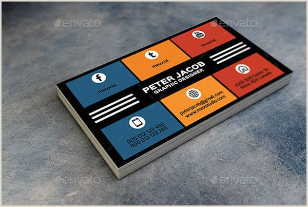 Social Media Best Business Cards Free Templates 13 Social Media Business Card Templates Psd Word Ai