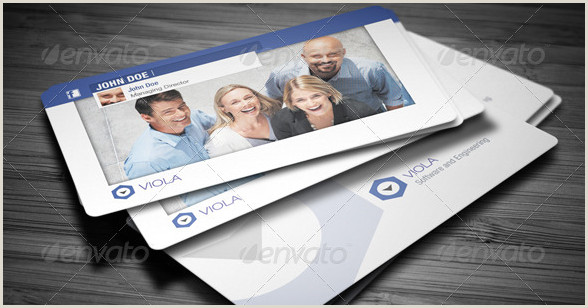 Social Media Best Business Cards Free Templates 15 Stylish Social Media Business Cards Designs