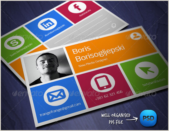 Social Media Best Business Cards Free Templates 24 Nice Social Media Business Card Psds – Design Freebies