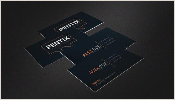 Social Media Business Cards Examples 13 Social Media Business Card Templates Psd Word Ai