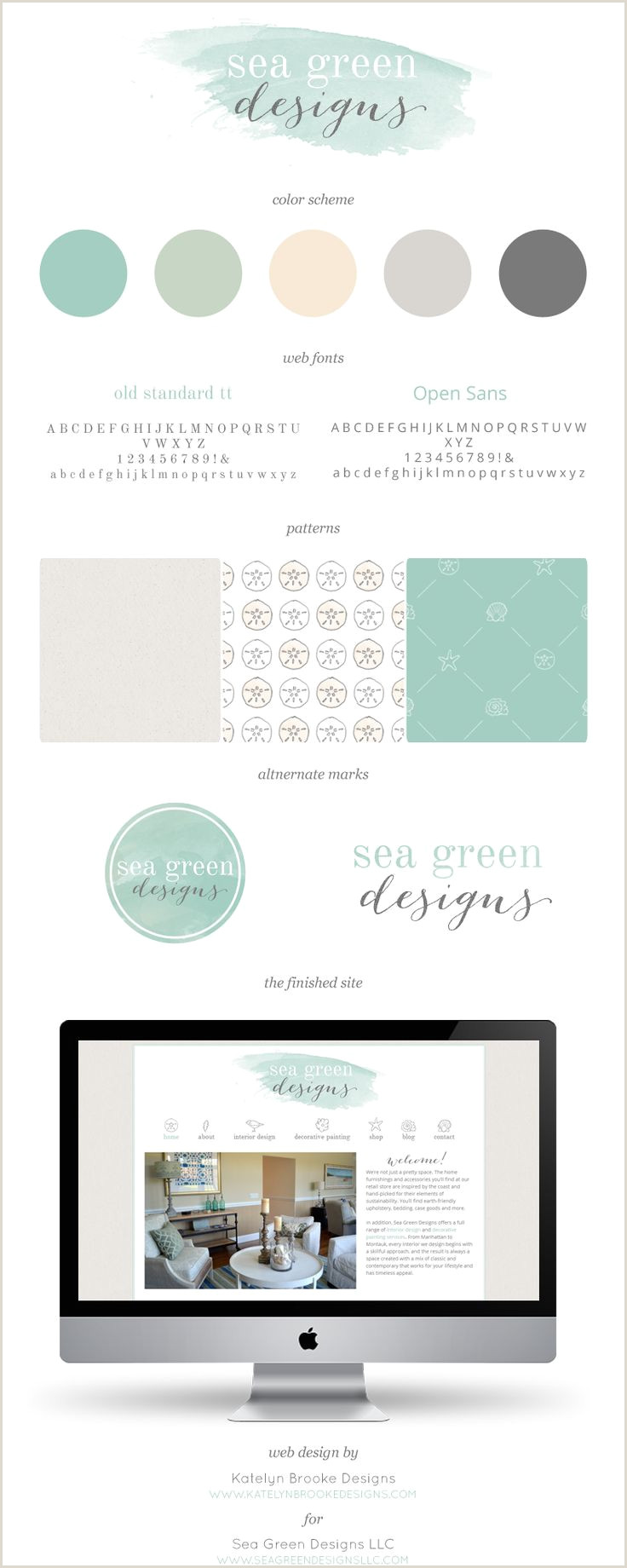 Social Media Business Cards Examples 20 Artistic Watercolor Website Designs