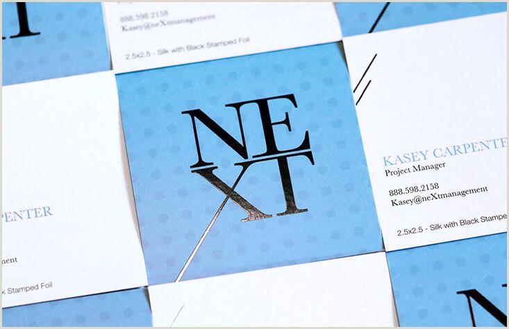 Square Unique Business Cards Be Unique Square Business Cards