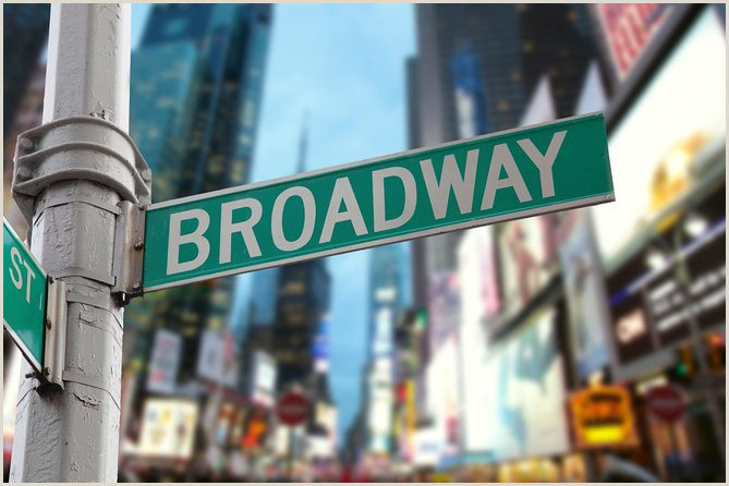 Square Unique Business Cards Broadway Theaters And Times Square With A Broadway Actor