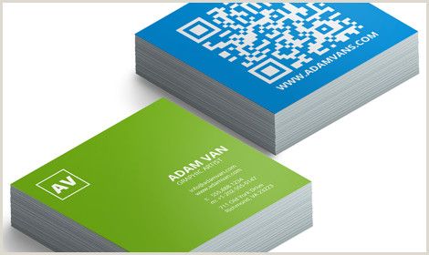 Square Unique Business Cards Order Square Business Cards With Modern Design Line