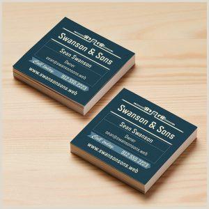 Square Unique Business Cards Square Business Cards Tnhprinter