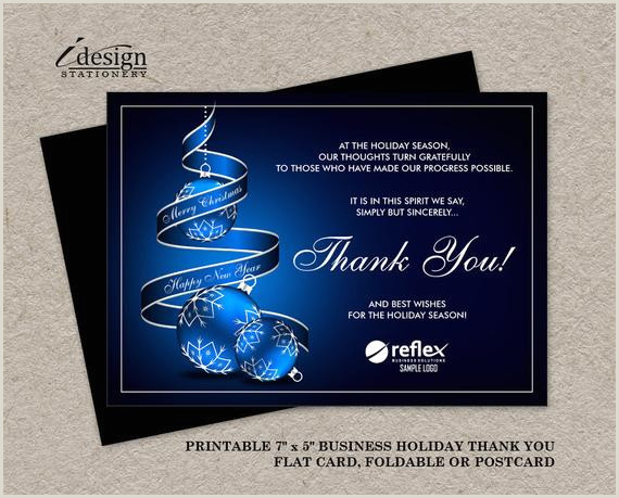Thank You Business Cards Wording Business Christmas Thank You Cards] Business Staff Christmas