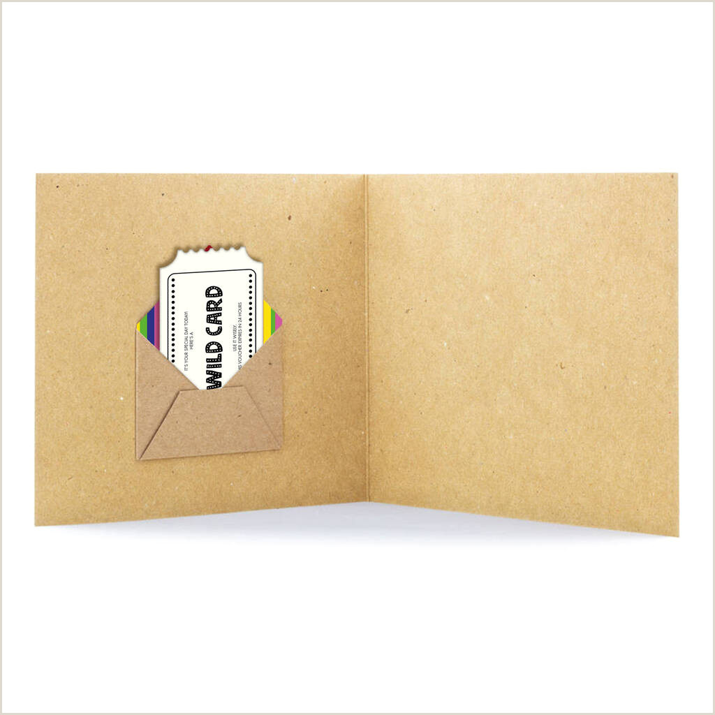 Thank You Business Cards Wording Handmade Thank You Rainbow Personalised Card