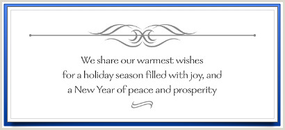 Thank You Business Cards Wording Writing Pany Christmas Cards