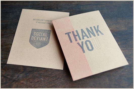 Thank You Card Design Ideas 50 Top Examples Of Thank You Cards Jayce O Yesta