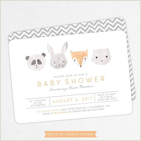 Thank You Card Design Ideas Baby Shower Invitacin Animals Thank You Cards 59 Trendy Ideas
