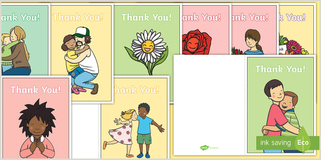 Thank You Card Designs Ideas Free Thank You Messages For Nursery Staff Cards