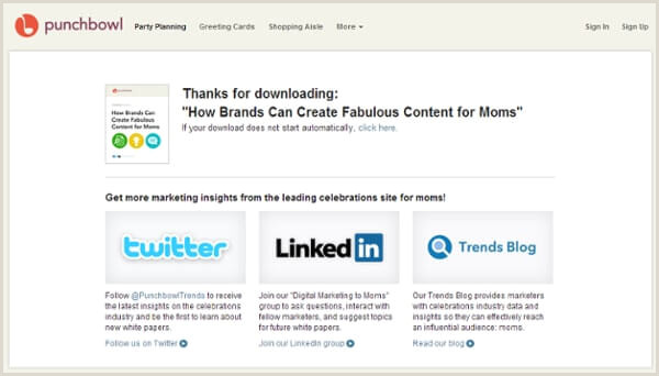 Thank You Page Design Inspiration 10 Thank You Page Examples That Nailed Lead Nurturing
