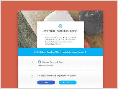 Thank You Page Design Inspiration Thank You Page Designs Themes Templates And Able