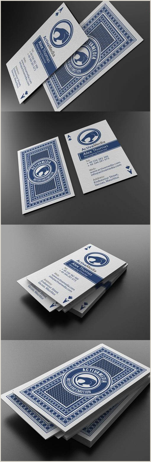 The Best Business Cards For Entrepreneuers 30 Outstanding Business Cards – Nd