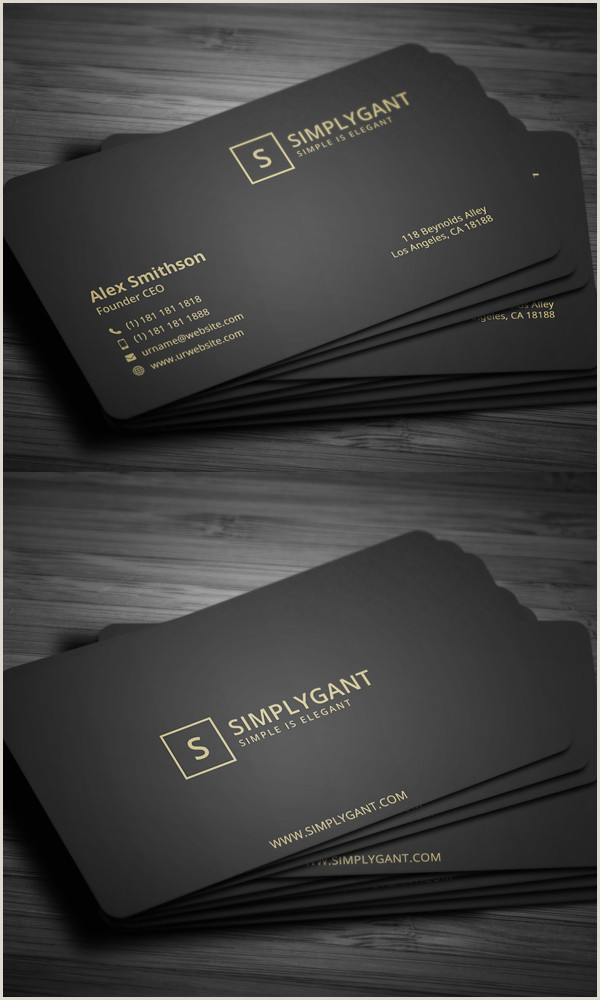 The Best Business Cards For Entrepreneuers 80 Best Of 2017 Business Card Designs Design