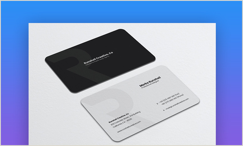 The Best Business Cards For Small Business Owners 25 Best Personal Business Cards Designed For Better