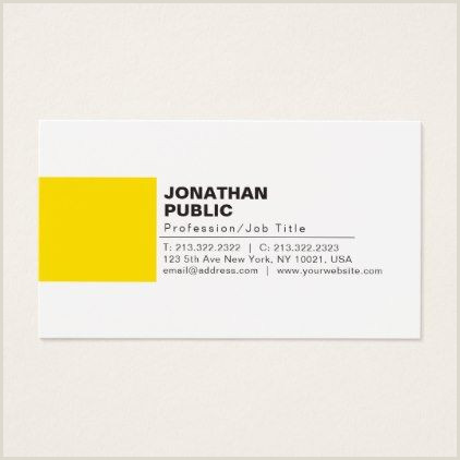 The Best Business Cards For Travel Professional Elegant Creative White Yellow Plain Business