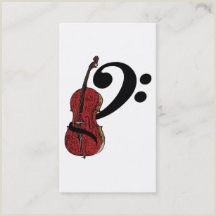 The Best Business Cards Of Cello Teacher Cello Business Cards Business Card Printing